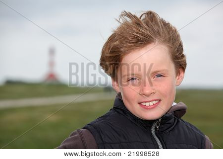 Boy In The Autumn Wind