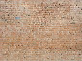 Brick Wall Texture, Brick Wall Background, Brick Wall For Interior Or Exterior Design With Copy Spac poster