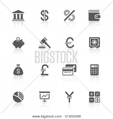 finance icons for your design