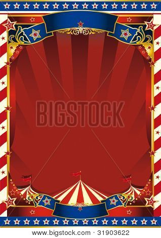 american old striped circus background. An american circus background for you