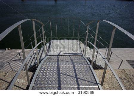 Galvanized Pier