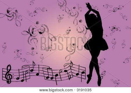 Pink Musical Background