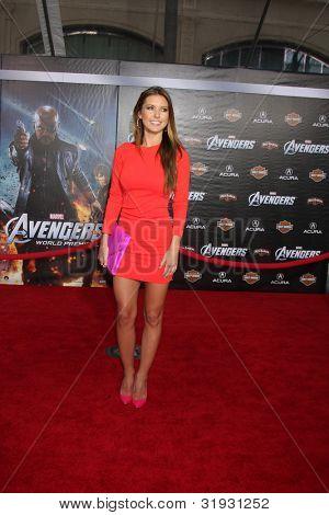LOS ANGELES - APR 11:  Audrina Patridge arrives at