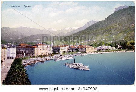 Lugano Postcard