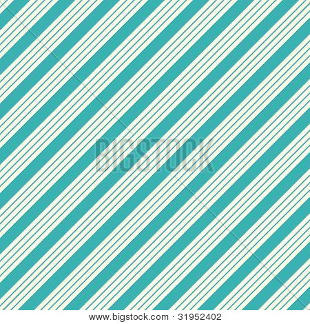 Thick White & Blue Diagonal Stripe Paper