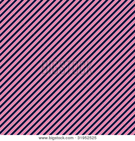 Pink & Blue Diagonal Stripe Paper