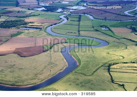 River Trent Aerial