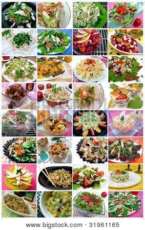 32 images food: salads