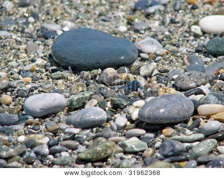 Beach stones
