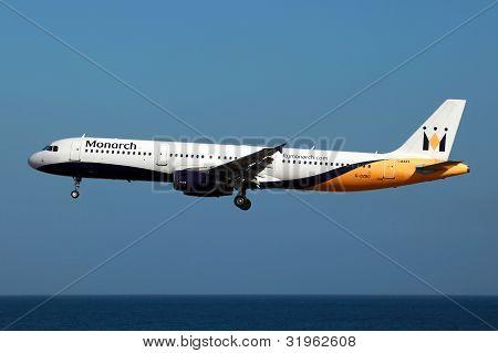 Monarch Airbus A321