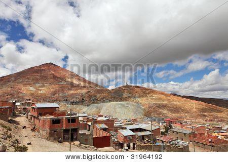 Silver mines of Cerro Rico � Potosi, Bolivia