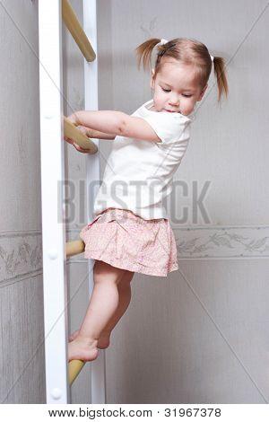 baby climbing