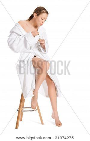 Portrait of Fresh and Beautiful  woman