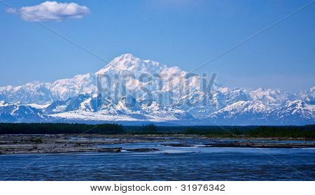 Denali And River