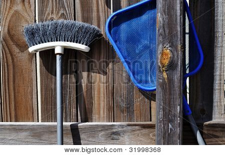 Fence And Tools