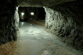 Praid (Parajd) underground salt mine