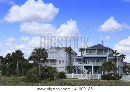 Houses in Cocoa Beach, Florida
