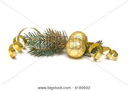 Golden Christmas Decorations
