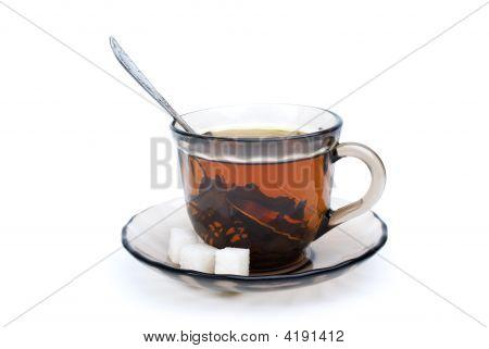Teacup With Black Tea