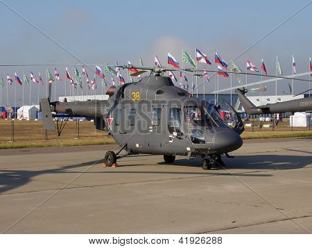 Russian Helicopter Ansat-u