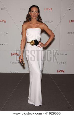 LOS ANGELES - NOV 5:  KATE BECKINSALE arriving to LACMA hosts Art + Film Gala 2011  on November 5, 2011 in Los Angeles, CA