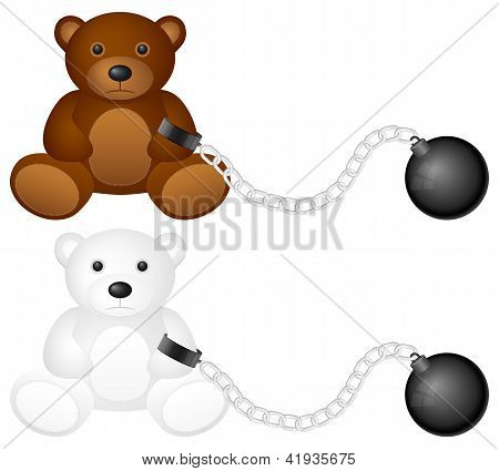 Shackles With Teddy Bear