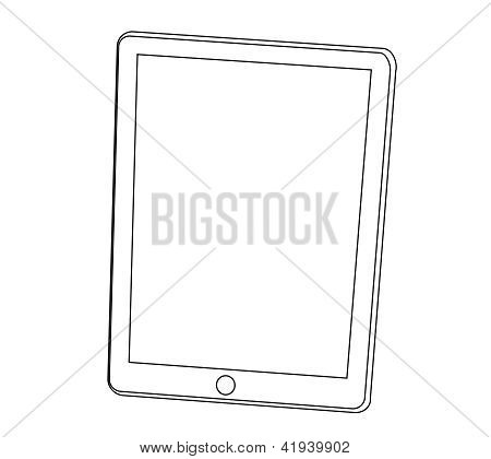 Tablet Pc Computer Ounline Stroke