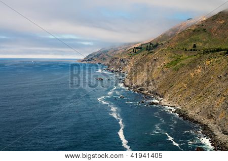 coastline of North California