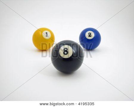 Detrás de la bola 8