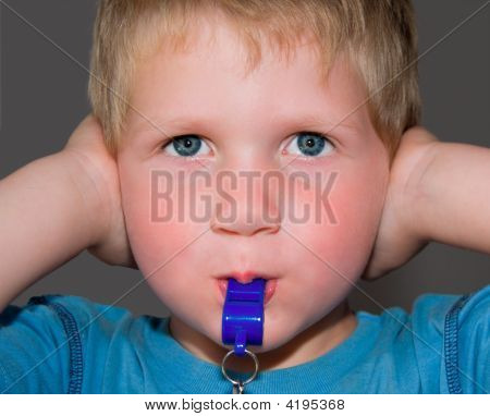 Boy With Whistle