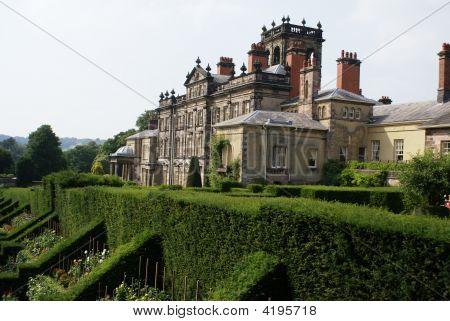Garden Art. Decorative Roof