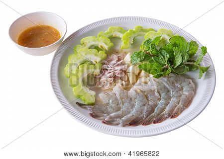 Raw Shrimp In Fish Sauce