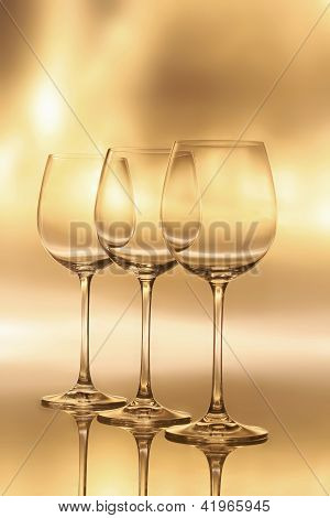 Holiday Celebration - Wine Glasses