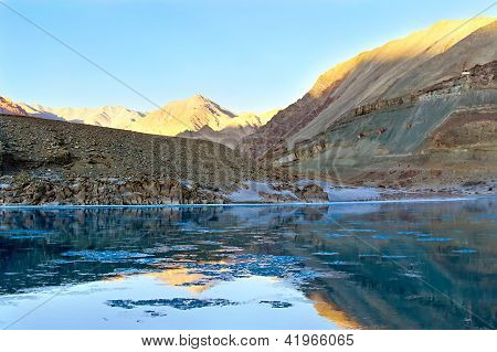 Mountain River Zanskar, Himalayas, North India