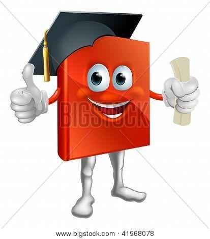 Graduation Book Mascot