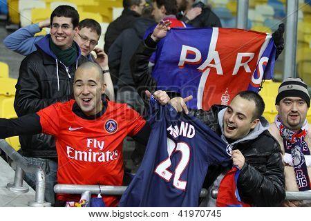 Fc Paris Saint-germain Team Supporters