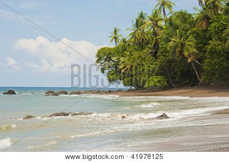 Beautiful Beach Costa Rica