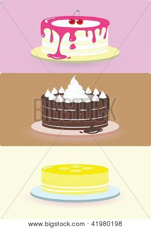 cake illustration/vector