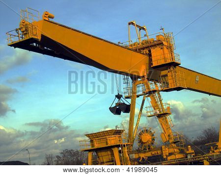 Loader, Crane At The Coal Yard