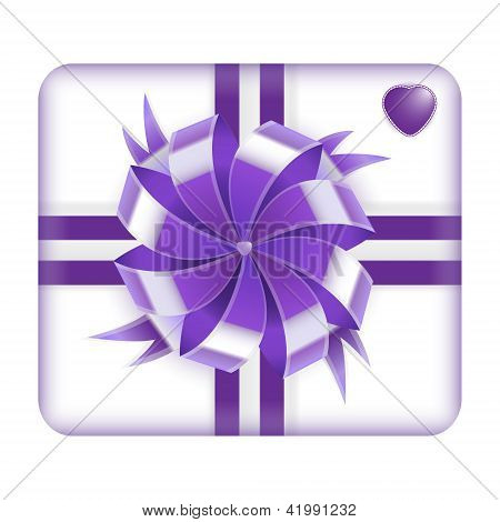 Purple Valentine's Gift Box