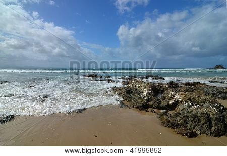 Beach in Byron Bay, Australia