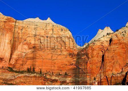 Zion National Park Cliffs