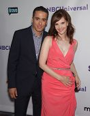 LOS ANGELES - AUG 02:  KIRK ACEVEDO & KIERSTEN WARREN arriving to Summer 2011 TCA Party - NBC  on Au