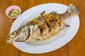 Fried Sea Bass With Fish Sauce