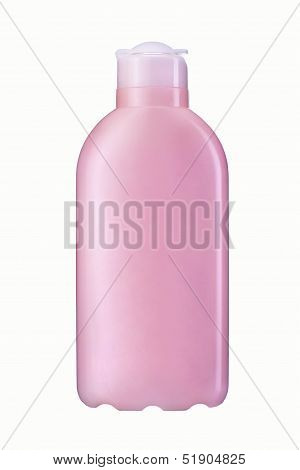 Shampoo plastic bottle
