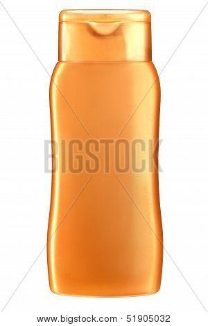 Figural shampoo bottle