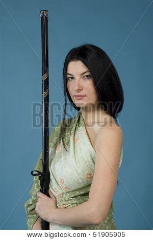 Woman with Katana/sword