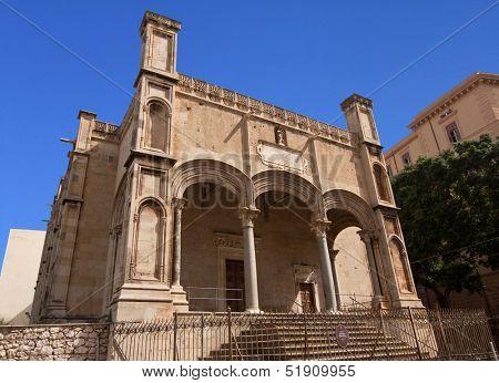 Santa Maria della Catena church in Palermo, Sicily