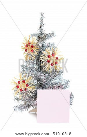 nd StickBeautiful Toy Fir Tree With Decorations