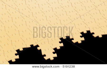 Gold Puzzle Dismantle